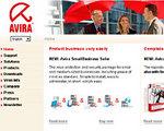 Avira GmbHのサイト